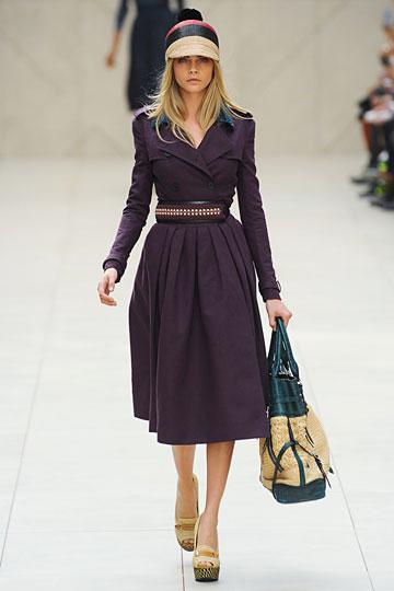BURBERRY luxury fashion house