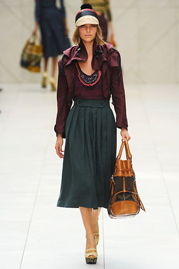 BURBERRY womenswear collection