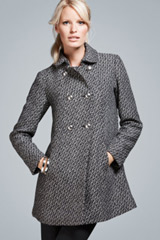 Double-sided grey coat